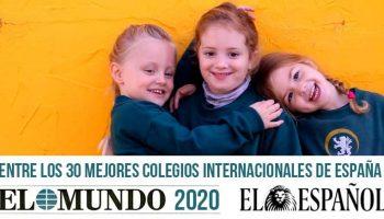 Sunland como mejor colegio internacional según el periódico El Mundo