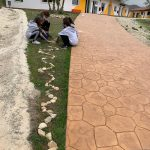 """LandArt"" respectful environmental art, outdoor activities inspired by Andy Goldsworthy and Richard Long (Y8)"